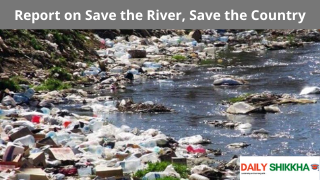 Report on Save the River, Save the Country