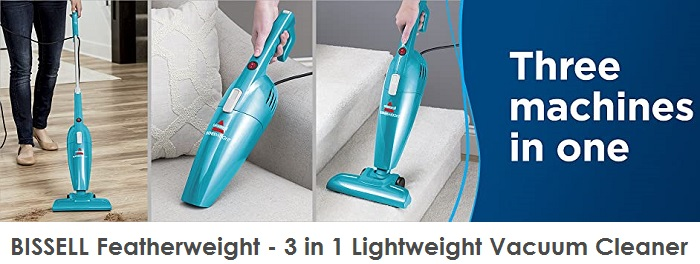 BISSELL Featherweight - 3 in 1 Lightweight Vacuum Cleaner