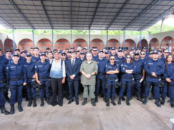 Guarda Municipal de Teresina (PI) inicia sua atuação nesta terça-feira, dia 24