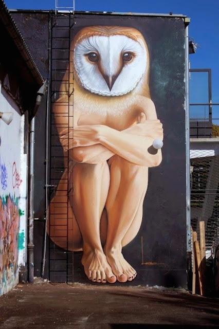 Grafiti Terbaik 2015 - Manusia Hewan, Setengah manusia