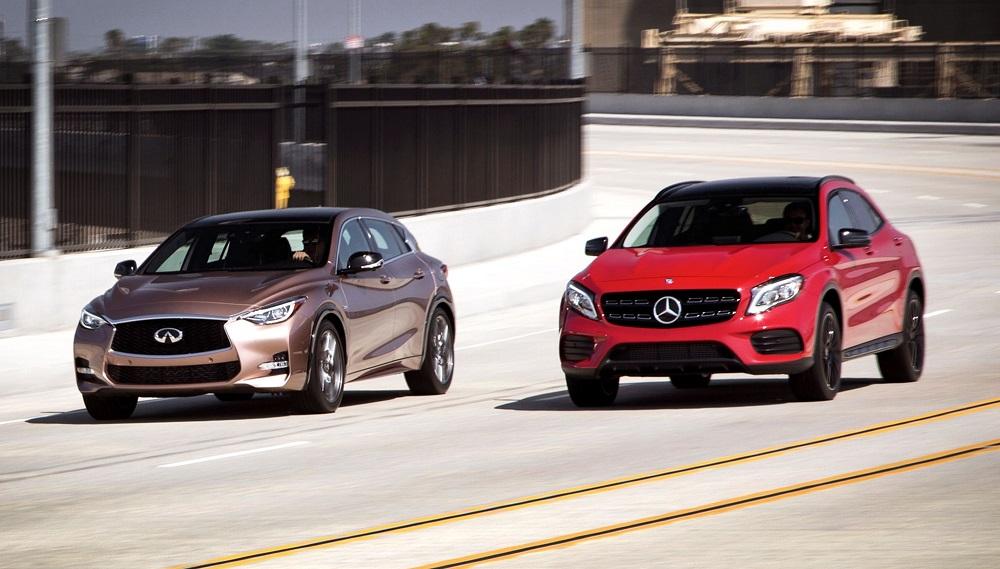 Mercedes-Benz GLA và Infiniti QX30 dùng chung một nền tảng