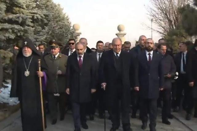 Armenia celebra 28 aniversario del ejército nacional