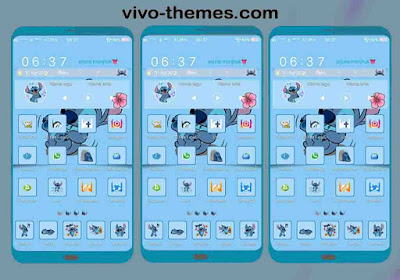 Stitch Fix ipo Theme For Vivo Android Smartphone