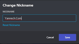 Cara Mengganti Nama Discord