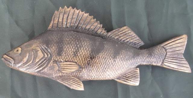 деревянные рыбы России - окунь