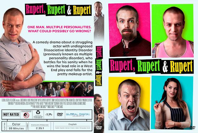 Rupert, Rupert & Rupert DVD DVD Cover