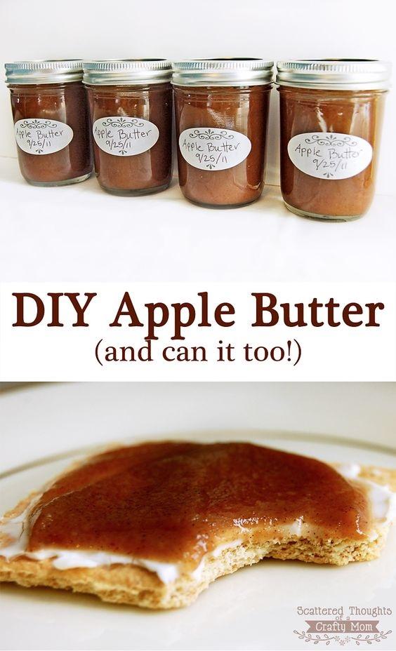 Homemade Apple Butter Recipe