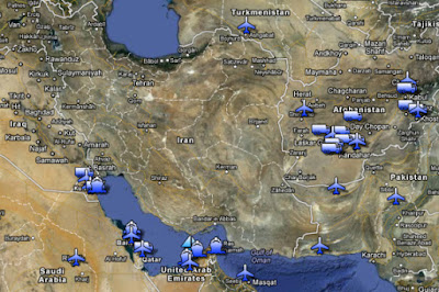 All US Bases in Region within Range of Iranian Missiles
