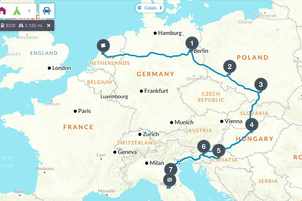 my interrail route for eastern europe, 2017 / where will i wander next
