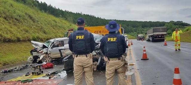 Presidente da Câmara de Vereadores de Cândido de Abreu sofre acidente próximo à Ponta Grossa