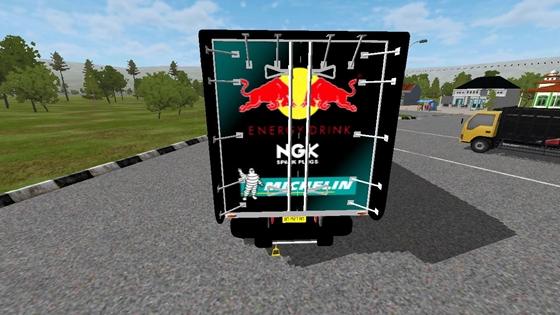 mod truck hino profia box bonfire bussid