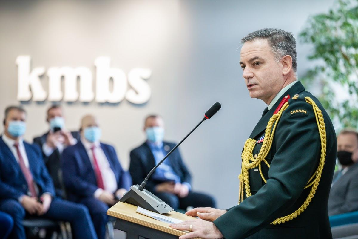 Аташе з питань оборони Канади в Україні полковник Роб Фостер