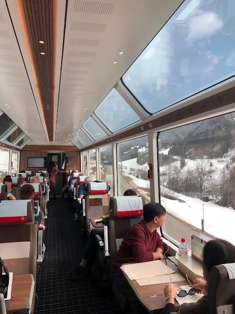 Glacier Express Treni: Dünyanın En Yavaş Ekspres Treni