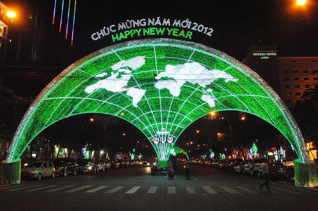 Tet a Ho Chi Minh City