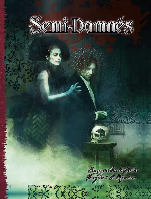 Couverture de Semi-Damnés, supplément Vampire : Le Requiem 2e Edition