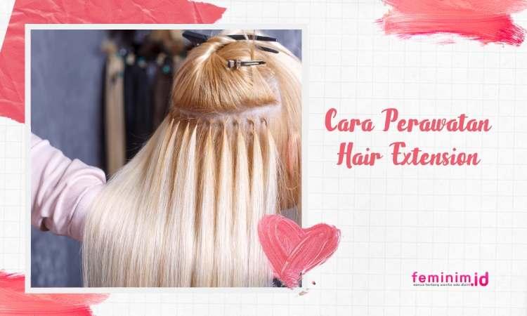 Perawatan hair extension