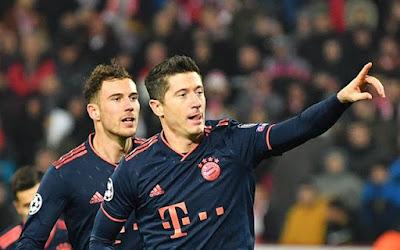 Video Cuplikan Gol: Crvena Zvezda 0-6 Bayern Munich (UEFA Champions League)
