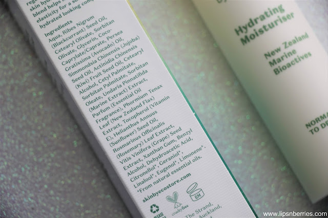 ecostore hydrating moisturiser review
