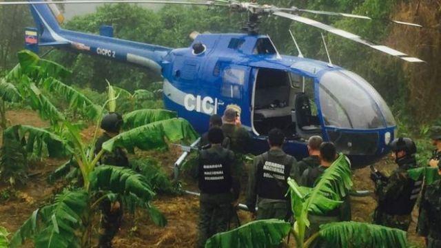 Funcionario mete la pata durante el hallazgo del helicóptero (Foto)
