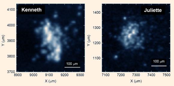 Phân tích sâu vào những hạt bụi trên sao chổi, các nhà khoa học thấy được những phân tử hữu cơ dạng rắn phức tạp. Credit: Nature.