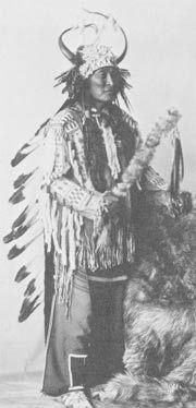 Tom Edmo, Curandeiro da Nação Shoshone. 1930.