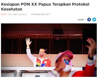Kesiapan PON XX Papua Terapkan Protokol Kesehatan
