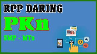 RPP DARING 1 LEMBAR PKN SMP MTS TAHUN 2020