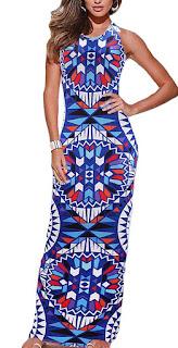 Pencil maxi dress