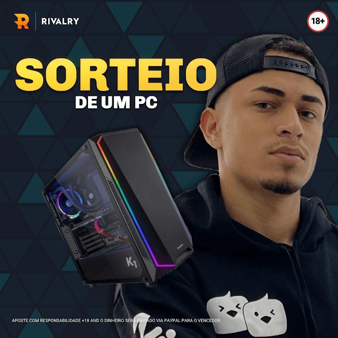 Sorteio PC Gamer no valor de R$5.000,00