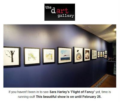 Dart Gallery Newsletter Sara Harley