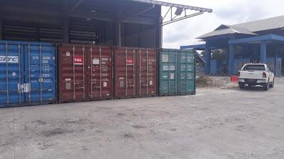 Import cargo shanghai to kariangau port balikpapan