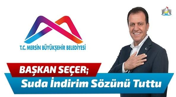 Mersin Haber, Mersin Son Dakika, Vahap Seçer, Mersin Büyük Şehir Belediyesi,