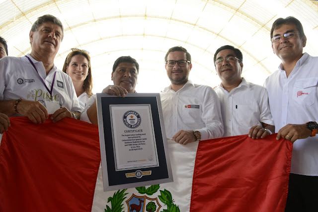 Pisco Record Guinness