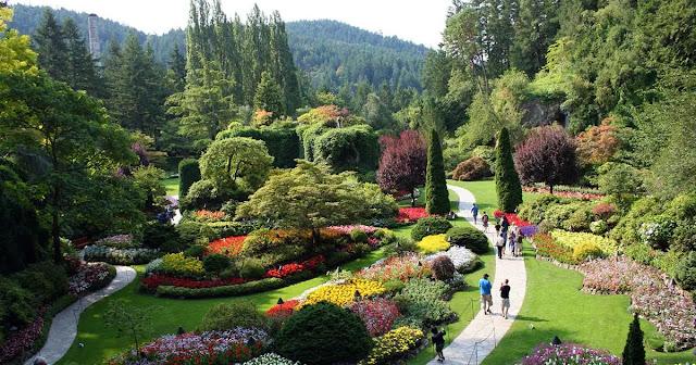 Botanical Gardens offer wonderful sights