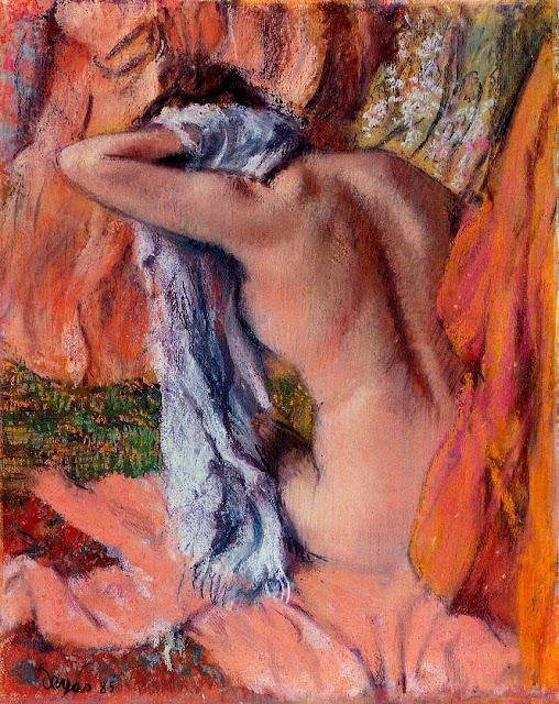 Эдгар Дега - После купания (1890-1893)