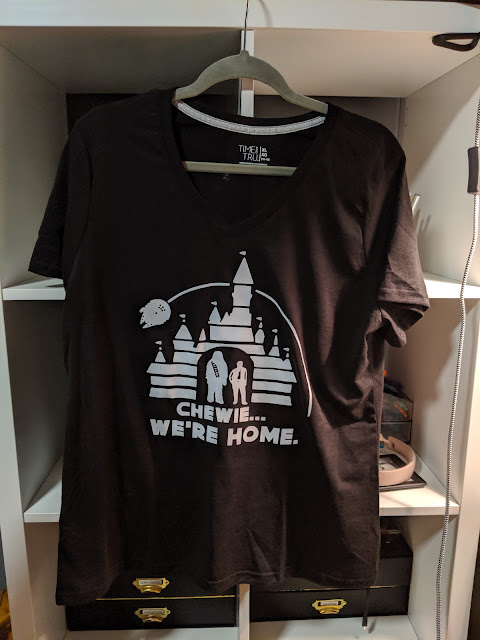 Chewie We're Home T Shirt | Cricut | www.kristenwoolsey.com