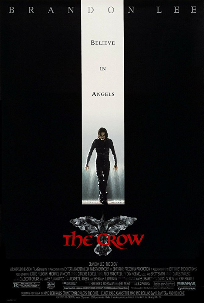 The Crow (1994) ταινιες online seires oipeirates greek subs
