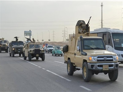 إدراج 319 متهما بـ تنظيم ولاية سيناء على قوائم الإرهاب
