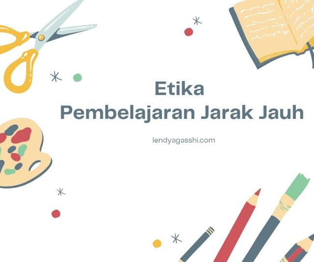 Etika Belajar Online