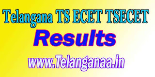 Telangana TS ECET Results TSECET 2017 Results Download