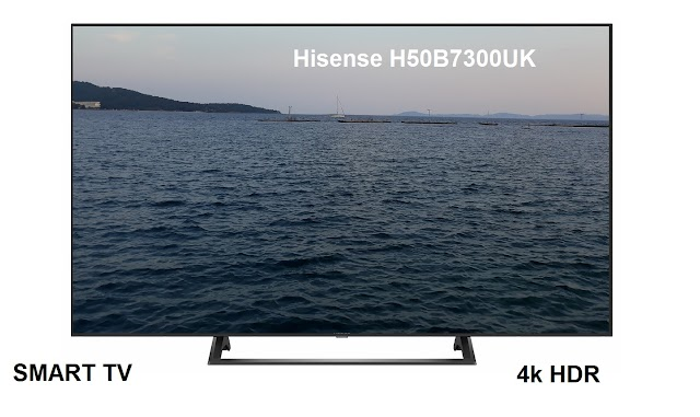 Hisense H50B7300UK TV features and specs
