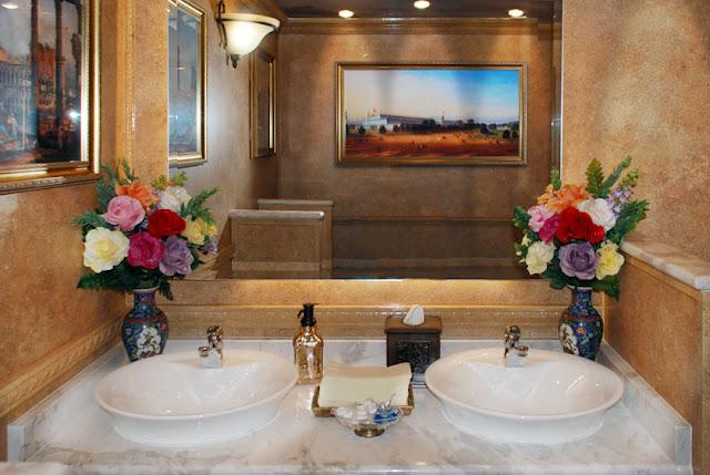 Restroom Trailers | Versailles Interior