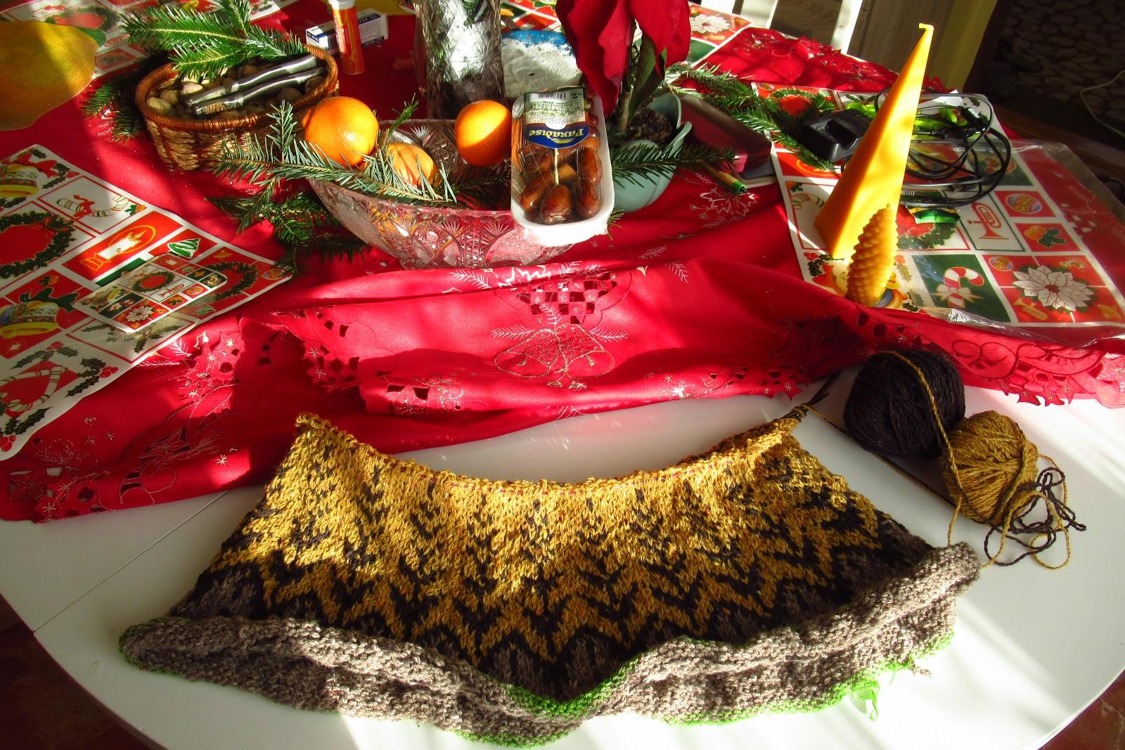 3449f1b0e43 Vánoční foto rozpleteného svetru