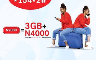 Code to Activate Airtel 3gb for N2000