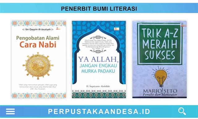 Daftar Judul Buku-Buku Penerbit Bumi Literasi