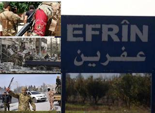 عمليات التغيير الديموغرافي في عفرين على يد الاحتلال التركي والمجموعات المسلحة للإئتلاف السوري