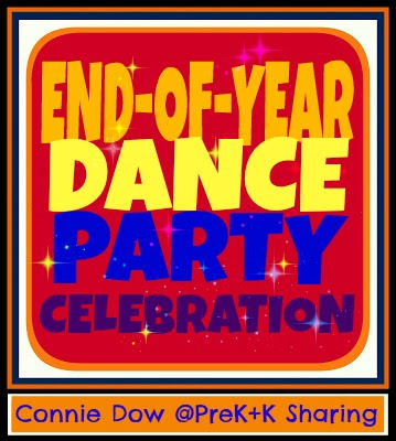 photo of: End of the Year Dance Party Celebration: Connie Dow at PreK+K Sharing