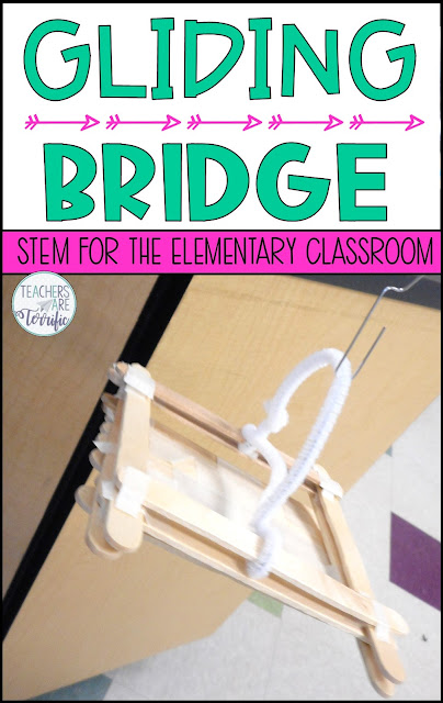 Here's an amazing STEM challenge based on a real life application! It's a bridge challenge we call Gliding Bridges! Students learn about this unique kind of bridge and then build a model. They must demonstrate how their model safely carries two passengers across a gap.