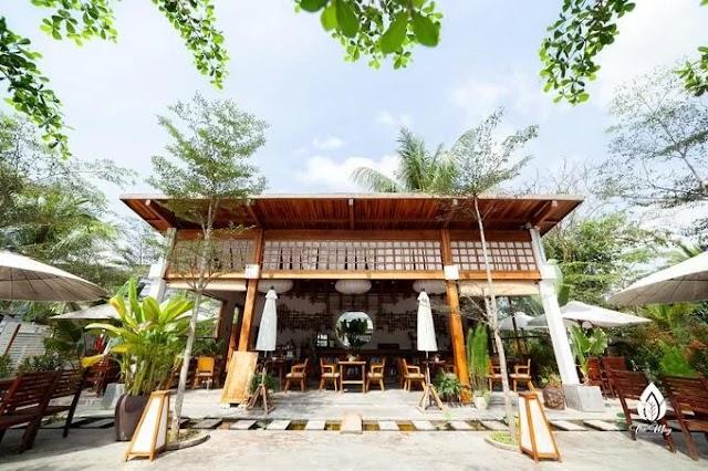 5 homestays has a green garden in Phu Quoc Island