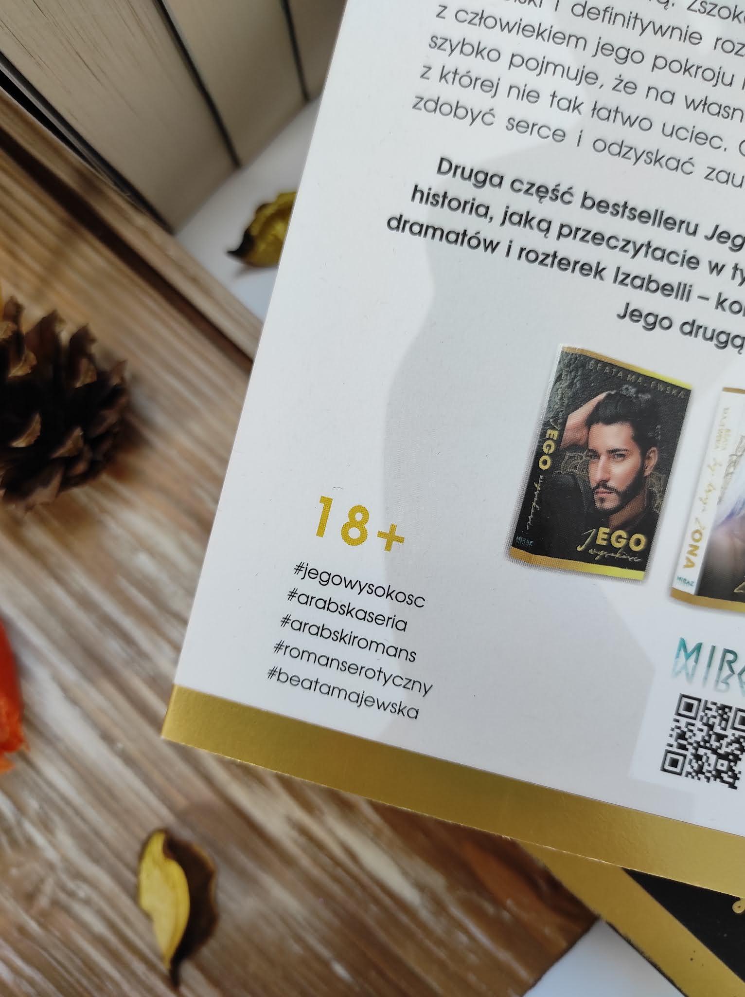 """Jego druga żona"" Beata Majewska - recenzja Patronat Medialny"